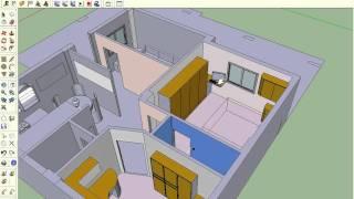 منزل 80 متر من تصميمي