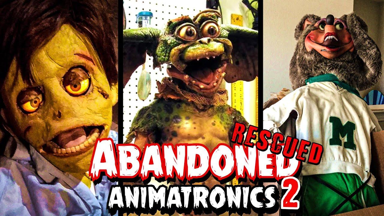 Abandoned and Rescued Animatronics 2