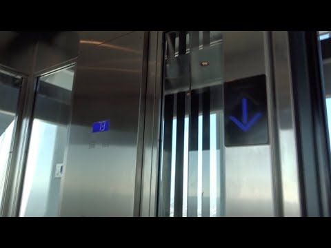ULTRA HIGH RISE Glass Elevator - InterContinental Downtown - Los Angeles, California