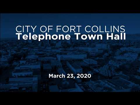view Telephone Town Hall 3/23 video