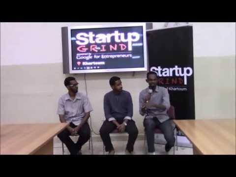Startup Grind Khartoum Hosts Mostafa Faiz (Smart Delivery) & Muaz Kory (KO2 Media )