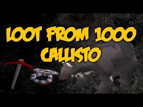 Loot From 1000 Callisto Kills 2017 Edition