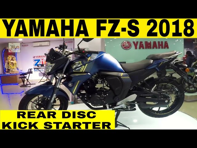 New YAMAHA FZ-s Fi V2 2018|Walkaround|Whats new in this model?|TPVreview