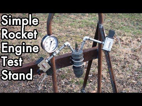 DIY Liquid Fueled Rocketry 02: Super Simple Rocket Engine Test Stand