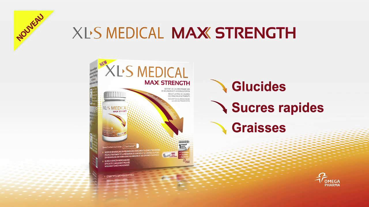 XLS Medical Max Strength - Extra Fort FR - YouTube