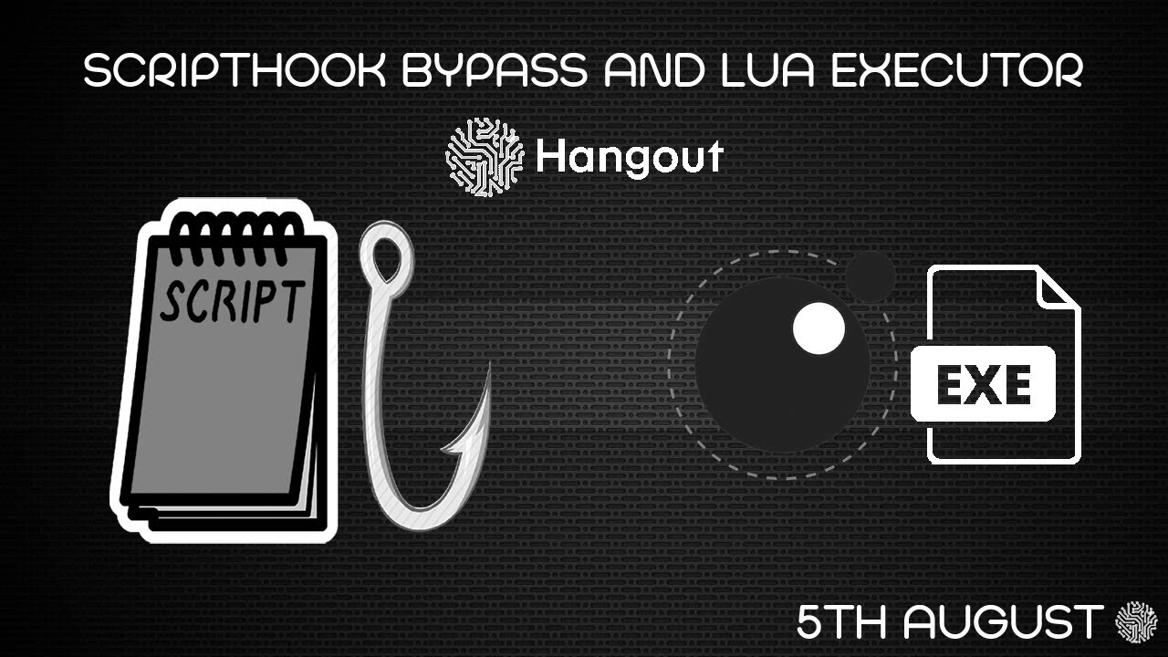 Scripthook Bypass, Lua executor and Cache Decrypter | 5th