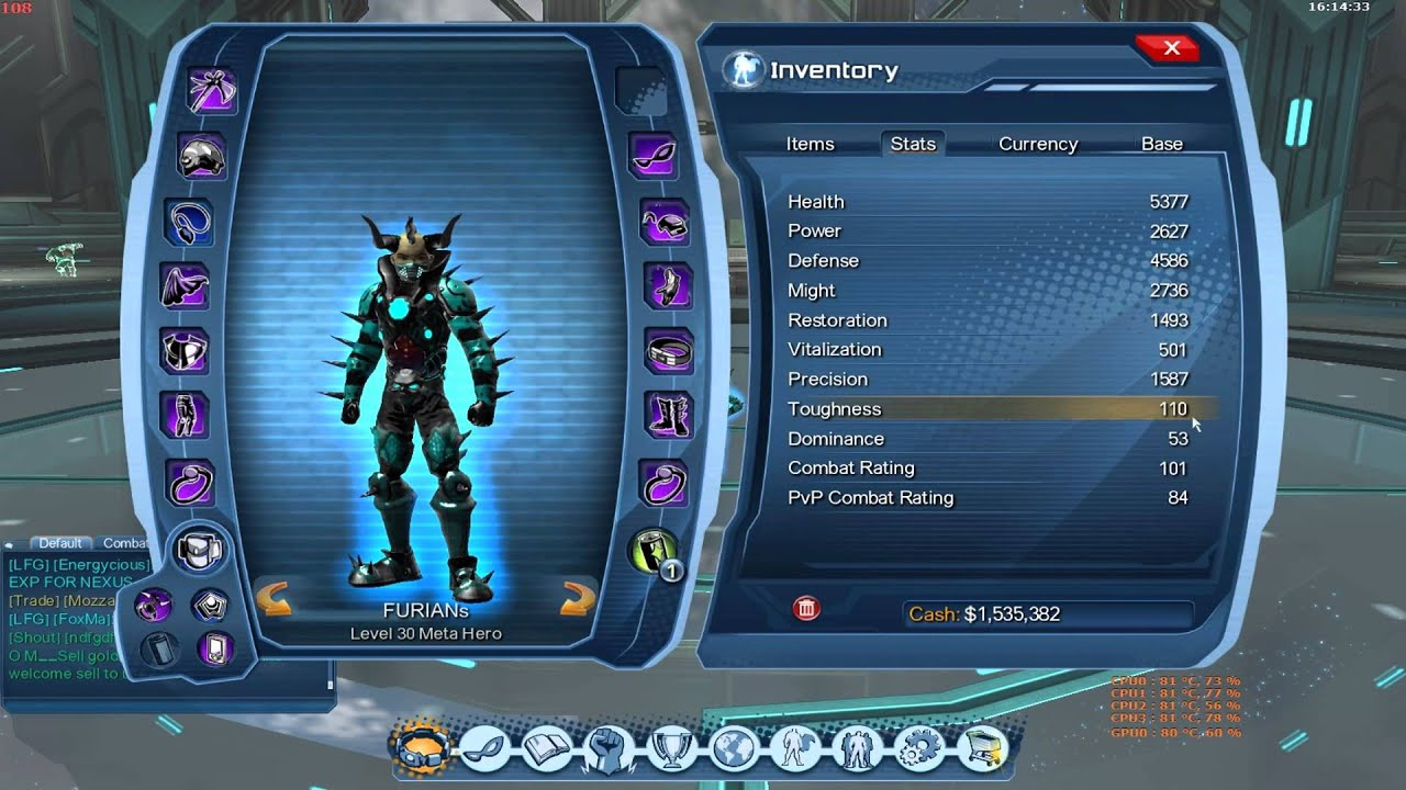 dcuo dps celestial cr101 stat and loadout update youtube