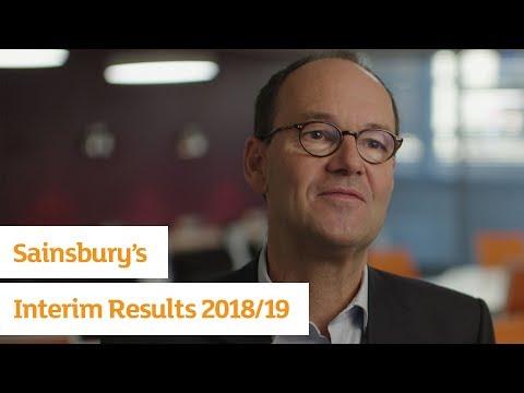 J Sainsbury Interim Results 2018/19 | Sainsbury's