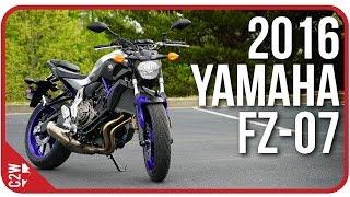 2016 yamaha fz 07 mt 07   first ride