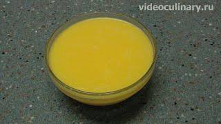 видео Приготовление топлёного сливочного масла