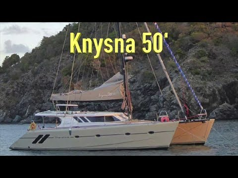 Knysna 500 Catamaran Review.  Would it be a good live-aboard