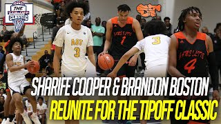 SHARIFE COOPER & BRANDON BOSTON reunite at Indi Hoops Tip Off Classic | A.O.T vs Game Elite (FLA)