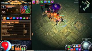Patch 2.0 Vaal Pyramid Map Boss Guide lvl 70 - Path Of Exile