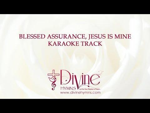Blessed Assurance Karaoke Tracks With Lyrics