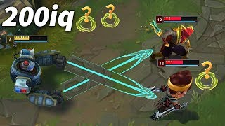 Best 200 IQ Plays & Outplays #9 (Blitzcrank prediction, nice Lee Sin kick...)