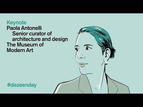 Paola Antonelli discusses design's response to impending extinction   Dezeen Day