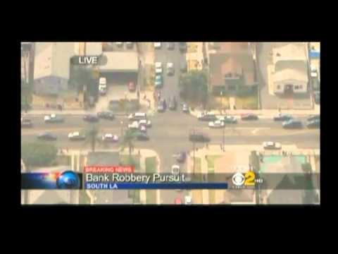 9-12-12 LA Police Chase Free Money Madness!