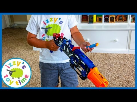 K'NEX NERF BLASTERS PRETEND PLAY! Fun Toys for Kids