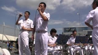 自衛官が歌う EXILE『道』? 海上自衛隊横須賀音楽隊