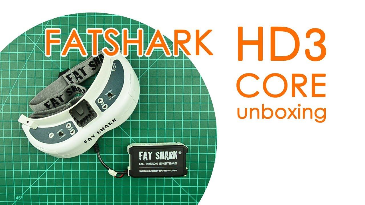 Fatshark HD3 Core unboxing: FPV goggle barebones - BEST FOR LESS