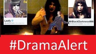 Leafy vs MrBlackDarkness666 #DramaAlert Death Magic Spells vs Trolls thumbnail