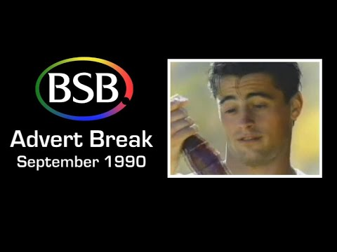 BSB (British Satellite Broadcasting) Commercial Break— September 1990 MATT LEBLANC