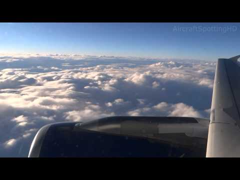 BA913 Frankfurt - Heathrow, British Airways - A319-131 - G-EUOA (Flight Deck + Full Flight)