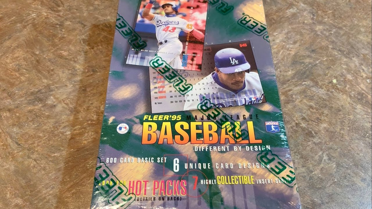 So Ugly 1995 Fleer Box Opening 8 On The Worst Baseball Cards Ever