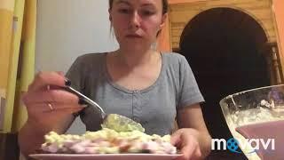 Салат «Любимый муж». Вкусный,нежный салатик) Обязательно записала в свою кулинарную книгу) Вкусно😋