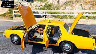 1989 Chevrolet Caprice Taxi Version GTA V TUNING 4K 60FPS GTX 1080