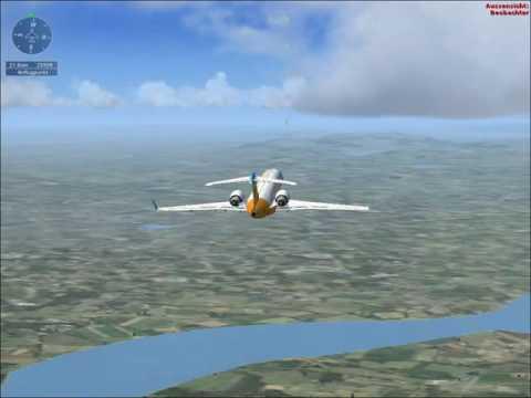 Pilot Finn Fliegt Jet! Lets Play FSX | FinnZocktYT