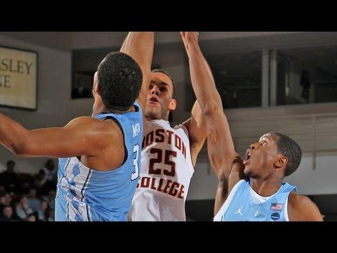 UNC Men's Basketball: Carolina Takes Down BC on the Road, 90-82