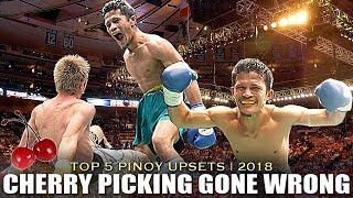 TOP 5 FILIPINO UPSET WINS OF 2018 | CHERRY PICKING GONE WRONG