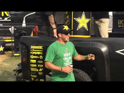 Topless For Tatas Cold Water Challenge | Rockstar Garage - Test Run