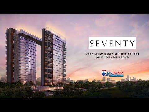 Virtual Tour of Seventy, Luxury 4 BHK Residences located on Iscon Ambli Road, Ahmedabad, India