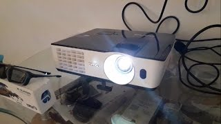 BenQ 3D projecter for home with review