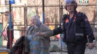 Взрыв газа в многоэтажном доме в центре Саратова [ВИДЕО]