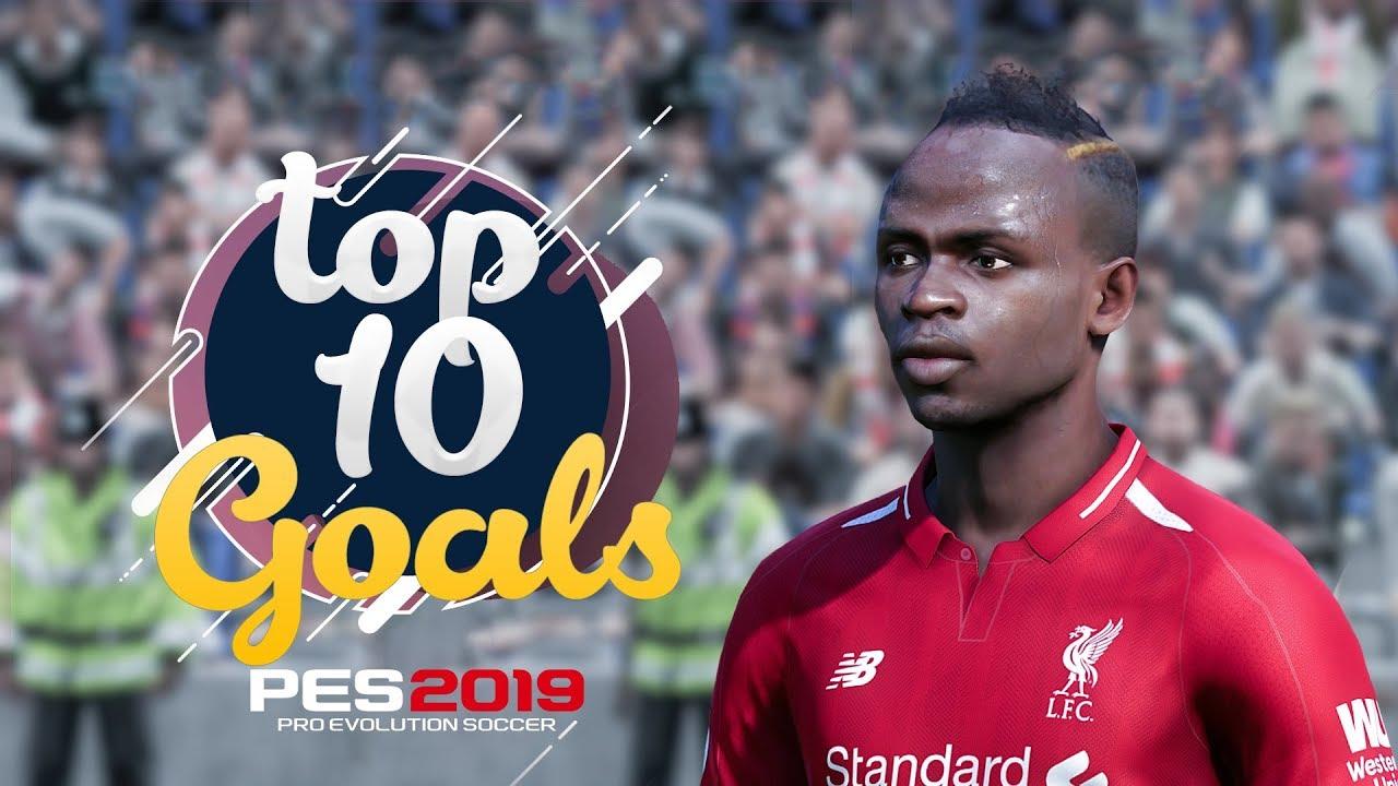 PES 2019 - TOP 10 CRAZY GOALS #2 | HD