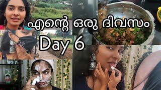 1 week of day in my life|Day 6|My shoot day|Easy biriyani for dinner|Skincare|Makeup|Asvi Malayalam