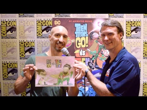 Scott Menville Interview For Teen Titans Go! Vs Teen Titans At SDCC