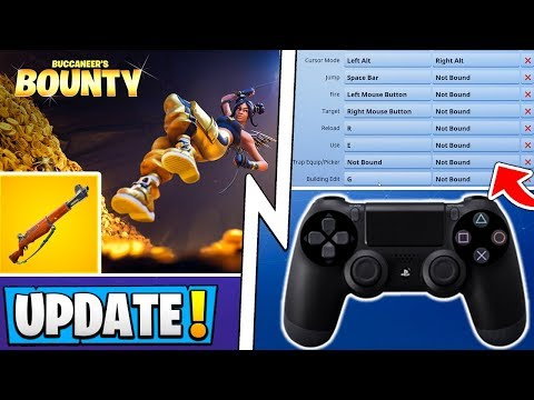 *ALL* Fortnite 8.30 Changes! | Console Build Update, Free Bounty Event, Infantry Rifle!