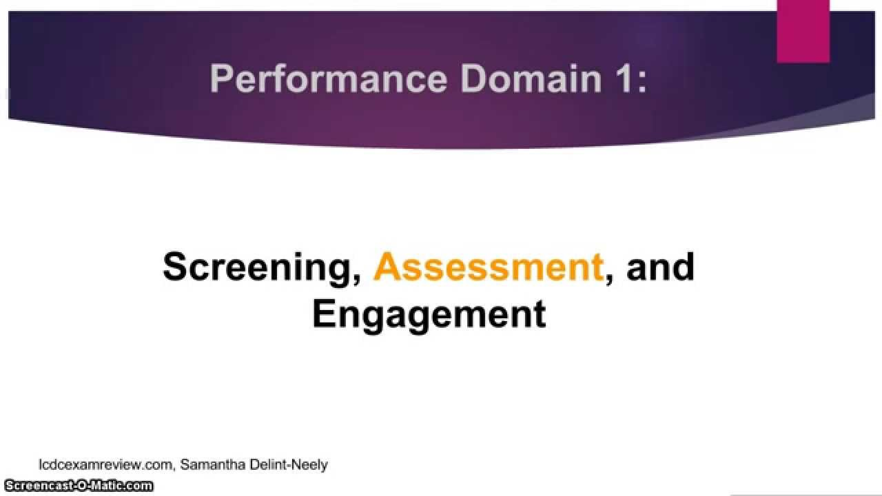 Alcohol and drug counselor exam performance domain 1 assessment alcohol and drug counselor exam performance domain 1 assessment 1betcityfo Image collections