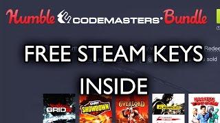 Humble Codemasters Bundle - Gameplay Impressions & FREE GAME KEYS [Hyp Impressions]