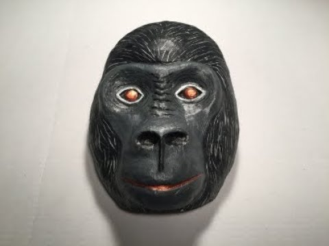 Gorilla Mask Headpiece