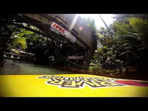 Jurassic park river ride 1080p Gopro Black Hero 3+ Universal studios island of Adventures