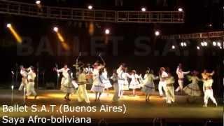 Ballet S.A.T.(Buenos Aires) Saya Afro-boliviana.