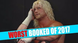 12 Worst Booked WWE Wrestlers Of 2017!