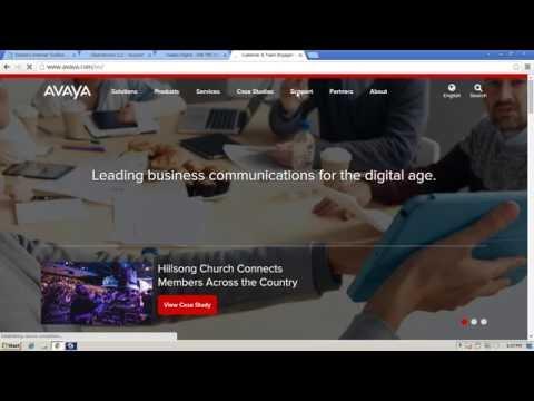 How To Program Avaya IP Office