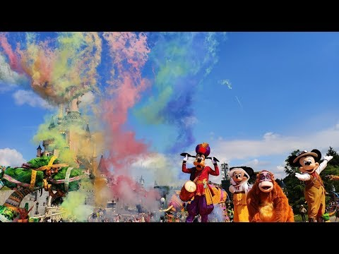 [4K] The Jungle Book Jive - Disneyland Paris 2019