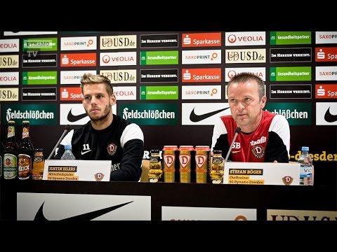 13. Spieltag   Bielefeld - SGD   Pressekonferenz vor dem Spiel